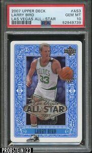 2007 Upper Deck Las Vegas All-Star Larry Bird Boston Celtics HOF PSA 10 GEM MINT
