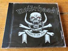 MOTORHEAD March or die  -  CD