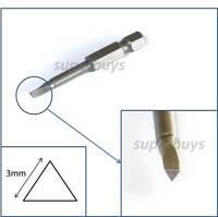 3mm Triangle Drill Bit Key Allen Repair Triangular Head Screw Screwdriver Hex