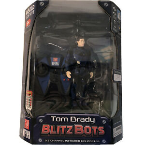 Tom Brady Tampa Bay Bucs Blitz Bots Remote Infrared Helicopter World Tech 2015