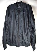 Nike Running Mens Jacket Windbreaker Black XL