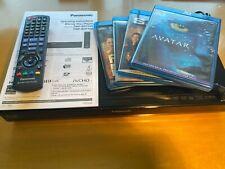 Panasonic DMP-BDT100 3D/2D Blu-Ray DVD Player w/ DVD Bundle