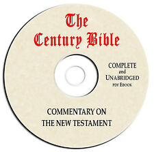 Century Bible Commentary-New Testament - CD eBook PDF-Christian Scripture Study