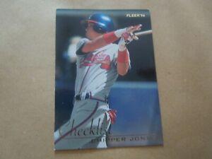 Carte - Baseball - Fleer:1996 - N°3 of 10 - Checklist