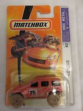 matchbox RESCUE #62 Jeep Wrangler 4x4 Metal Die-Cast 1/64 MBX Toy Car