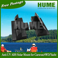 180mm Black Side Bracket Mount Solar Panel Caravan Motorhome Boat RV 2 for 1set