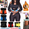 FAJAS Women's Waist Trainer Trimmer Sauna Sweat Sport Belt Slimming Body Shaper