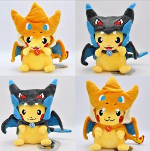 23cm Pokemon Pikachu Pikazard Kuscheltier Plüschtier Plüschfigur Deko Cosplay