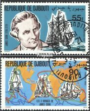 Djibouti 287-288 (complete issue) used 1980 James Cook