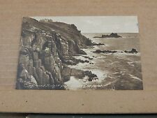 Postcard Lands End Cornwall Posted Sennon  1927  XC4