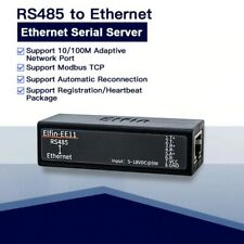 Elfin EE11 Serial Port RS485 To Ethernet TCP/IP RJ45 Converter Embedded Web HTTP