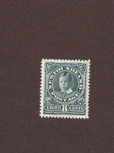 Newfoundland, 110a, MH, peacock blue, 1911,  CV $90.00, VF