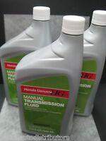 Manual Transmission Fluid Honda Genuine MTF - Pack of 3 - Ships Fast!