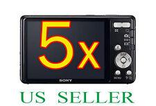 5x Sony CyberShot DSC-W650 W690 Camera Clear LCD Screen Protector Guard Film