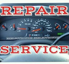 FORD E150 E250 E350 E450 INSTRUMENT CLUSTER REPAIR SERVICE 2004 TO 2008