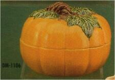 Halloween Pumpkin Candy Dish or Centerpiece *  Ceramic Bisque Ready to Paint