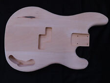 Basswood P-Style Bass Guitar Body