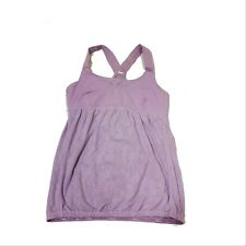 0ade597a7ca7e Lululemon Women s Pink Floral Tank Top Built In Sports Bra Size 6