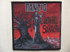 Aufnäher - Patch - Danzig - Deth Red Sabaoth - Misfits - Samhain - Prong
