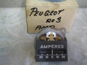 Peugeot 203 Amp Gauge