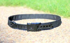 Velocity-Lok edc/duty/competition belt Victory 1.5 black ratcheting buckle