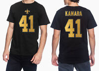 a7498af88 Outerstuff NFL Youth New Orleans Saints Alvin Kamara  41 Player Tee ...