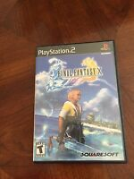 Final Fantasy X Ps2 PlayStation 2 Rpg Cib TESTED Works NG3