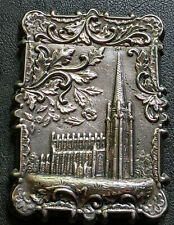 Antique Leonard & Wilson-Calling Card Case-Coin Silver-Trinity Church