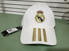 REAL MADRID ADIDAS OFFICIAL TEAM HAT STRAPBACK SOCCER HAT UNISEX