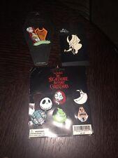 Lot Of 8 Tim Burton's Nightmare Before Christmas Disneyland Pins-NEW