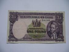 NEUSEELAND (NEW ZEALAND). 1 POUND ND (1940-1945) P-159a