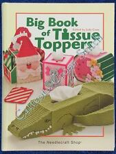Plastic Canvas Patterns Big Book Of Tissue Toppers Lots of Tissue Box Covers