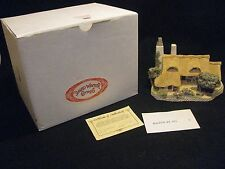 1987 David Winter Orchard Cottage, Uk West Country Collection in Orig Box, Coa