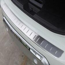 Car Outer Rear Bumper Protector Tailgate Sill Plate Cover For Nissan Rogue 2015