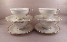 Vintage Castleton China SOVEREIGN Cups & Saucers - Four Sets
