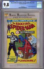 MARVEL MILESTONE EDITION AMAZING SPIDER-MAN 129 CGC 9.8 PUNISHER!