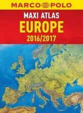 Marco Polo Europe Maxi Atlas 2016/2017 *IN STOCK IN MELBOURNE - NEW*