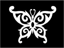 Butterfly Decal Vinyl Tribal Gothic wall art car decor truck window sticker