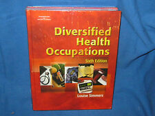 DIVERSIFIED HEALTH OCCUPATIONS SIXTH 6 EDITION HARDCOVER & STUDENT WORKBOOK
