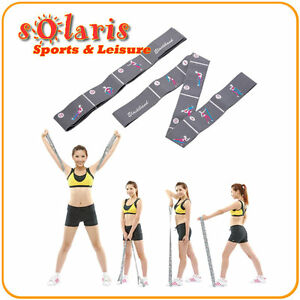Fitness Elastic Band for Home Gym Yoga Rehabilitation Workout Full Body Toning