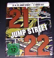 21 & 22 Jump Street 4K Ultra HD blu ray + Limitada steelbook Nuevo & Emb.orig