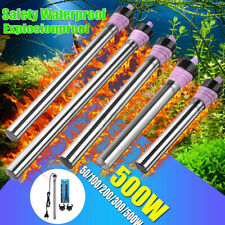 Hidom Submersible Stainless Steel Aquarium Fish Tank Heater Thermostat 300/500W