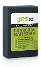 Yes to Natural Man Activated Charcoal Bar Soap