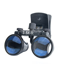 Dental 3.5X-R Clip Type Magnifying Loupes Surgical Binocular Glass Magnifier