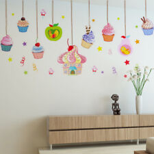 candy wall stickers cake decor ice cream party decorations window vinyl decal LF