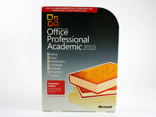 Office 2010 Professional Vollversion Academic, deutsch, SKU: T6D-00014