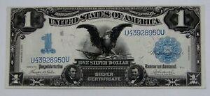 1899 - $1 Large Size Black Eagle Silver Certificate Fr. 233 - High Grade