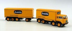 """Fiat 690 Millepiedi """"fredella"""" Brekina/Pirata 58435 Neu in OVP 1/87"""