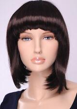 Perücke Wig braun Perücken Wigs Haare für Schaufensterpuppe Neu B02K JI DISPLAY