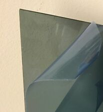 "Light Gray/Smoke Transparent Acrylic Plexiglass #2064 - 1/4"" - 12"" x 12"""
